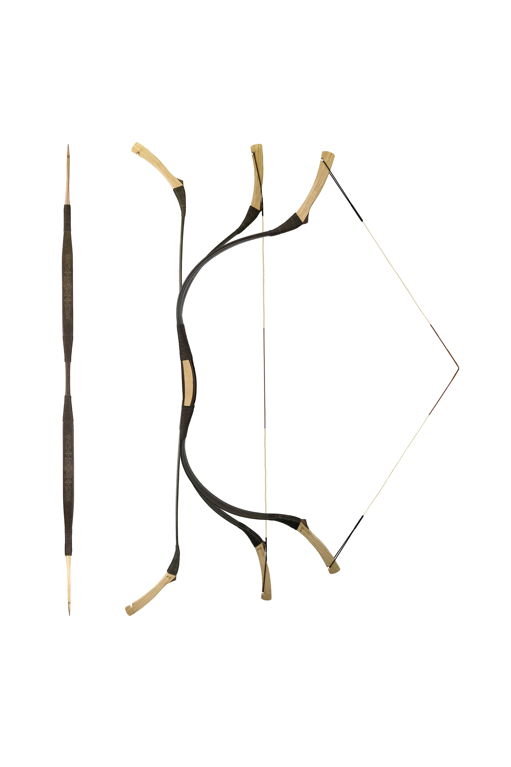 Mongol bow for Sale (Wolf 3) - Horsebows - Kassai - Made in Hungary d193434ed